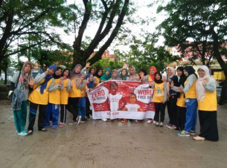 Komunitas Aisyiyah Peduli Tb Hiv Kampanye Di Cfd Maros Berita Maros